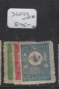 TURKEY   (P2402B)  SC P111-3   MNH