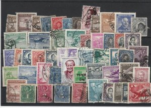 Vintage Chile Mixed Stamps Ref 28958