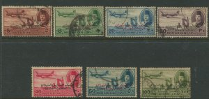 STAMP STATION PERTH Egypt #C55,C57,C59-C63 Air Post Issue Used Short Set1952