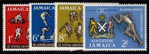 JAMAICA QEII SG197-200, complete set, VLH MINT.