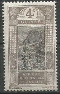 FRENCH GUINEA, 1913, MH 4c Ford at Kitim Scott 65