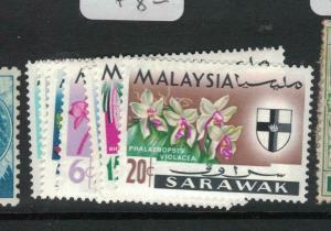 Sarawak SG 212-7 MNH (7dvq)