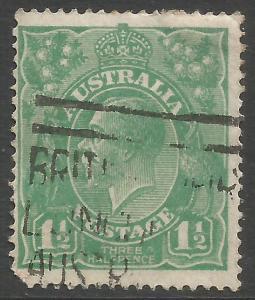 AUSTRALIA 25 VFU O045-3