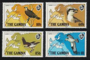 Gambia Osprey Birds 4v SG#510-513