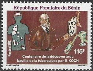 Benin  517  MNH  Dr. Robert Koch TB Bacillus