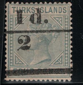 Turks Island 1893 SC 56 Mint SCV $225.00