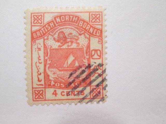 North Borneo #28 used