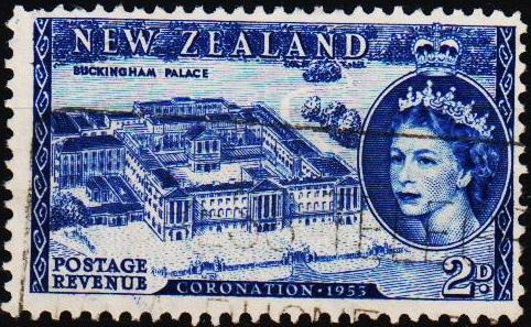 New Zealand. 1953 2d S.G.714 Fine Used
