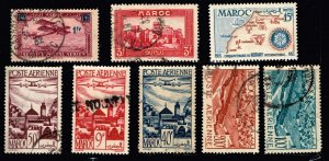 Morocco Stamp USED STAMPS COLLECTION LOT #1