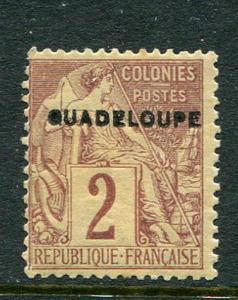 Guadeloupe #15a Mint
