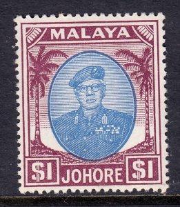 Malaya (Johore) - Scott #148 - MH - SCV $9.00