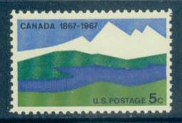 1324 5c Canada Fine MNH Plt/4 UL 29094-985 F06311