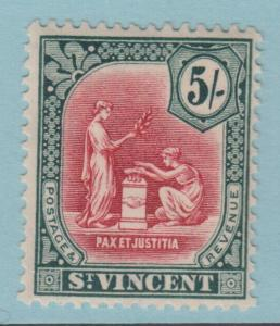 ST VINCENT 115   MINT HINGED OG *  NO FAULTS EXTRA FINE !
