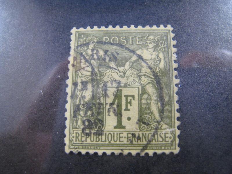 FRANCE - SCOTT # 76 - Used