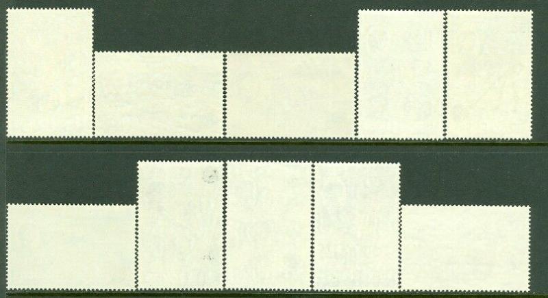 EDW1949SELL : TURKS & CAICOS 1950-69 Scott #105-17 VF MOGLH Also #158-71, 181-95