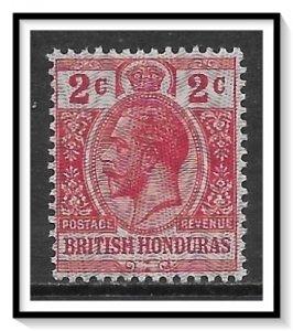 British Honduras #86 KG V MNH