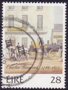 Ireland - 1986 - Scott #675 - used - Charles Bianconi