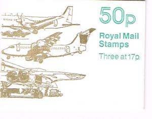 Great Britain Booklet SG FB58