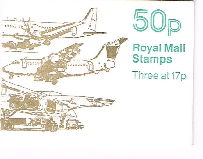 Great Britain Booklet SG FB58