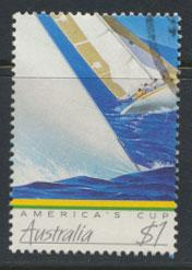 SG 1049  SC# 1014  Used  - America's Cup Yatching