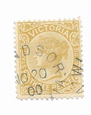 Australia Victoria #149 Used - Stamp - CAT VALUE $2.40