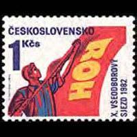 CZECHOSLOVAKIA 1982 - Scott# 2403 Cong. Set of 1 NH