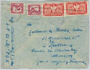 59389 - VIETNAM  Indochine française - POSTAL HISTORY:  COVER to GERMANY 1948