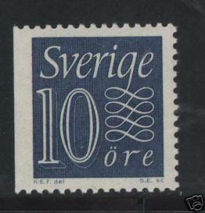 Sweden #514a VF/NH