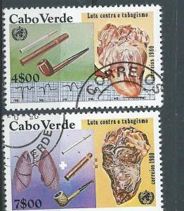 Cape Verde # 421A & 421D  (U)  CV $0.60
