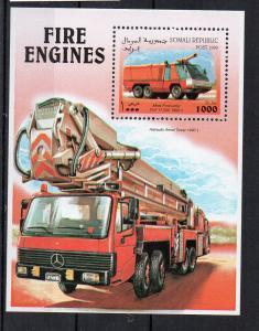 SOMALIA - SOMALI REPUBLIC - FIRE ENGINES - M/S - 1999 -