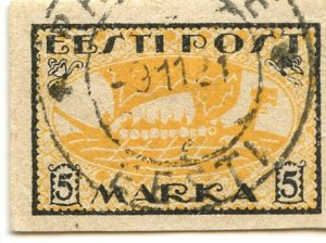 Estonia, Scott #35, Used