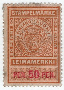 (I.B) Finland Revenue : Duty Stamp 50p
