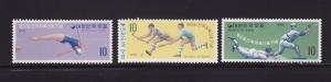Korea 730-732 Set MNH Sports (A)