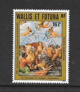 WALLIS & FUTUNA #C126  ART-RAPHAEL BIRTH ANNIV.  CANCELLED