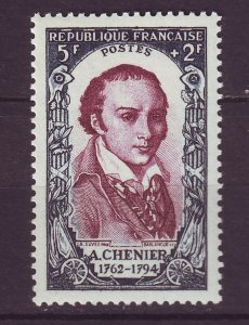 J24670 JLstamps 1950 france part of set mnh #b249 famous people