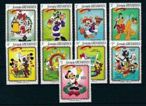 [22434] Grenada Grenadines 1983 Disney Characters Christmas MNH