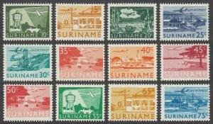 1965 Surinam 462-473 Airplanes