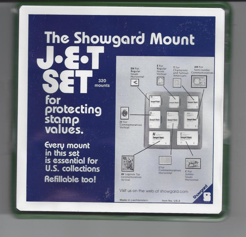 SHOWGARD BLACK PRECUT JET SET 320 MOUNTS