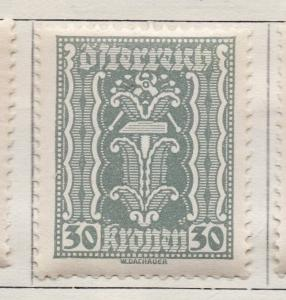 Austria 1922 Early Issue Fine Mint Hinged 50k. 157502