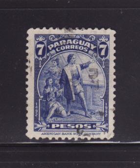Paraguay 402 U Christopher Columbus, Explorer (E)