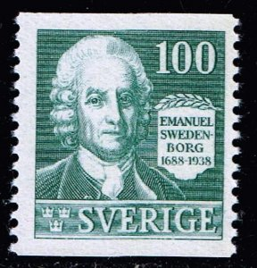SWEDEN STAMP 1938 250th Anniversary of the Birth of Swedenborg 100ÖRE  MNH