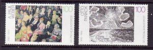 Germany-Sc#1779-80-unused NH -Paintings-1993-