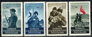 Turkey #1079-82 MNH CV $3.60 (X7726)