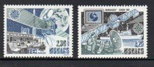 Monaco Sc  1760-61 1991  Europa stamp set mint  NH