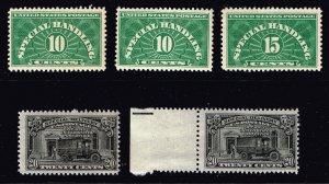 US STAMP BOB   Special Handling, Special Delivery Stamps MNH/MH/OG stamps lot