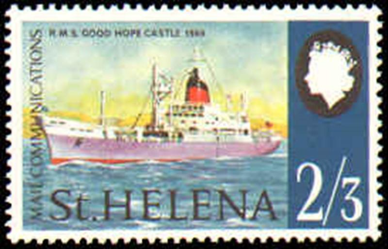 ST HELENA #224-227 MINT NEVER HINGED COMPLETE SET ( 4 )