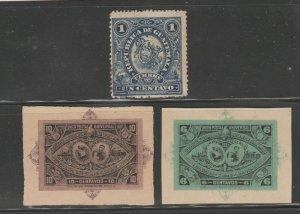 Revenue Fiscal Stamp MX-118 Guatemala