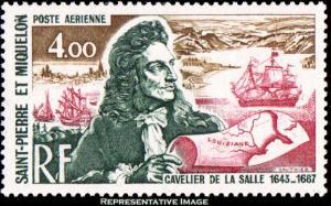 Saint Pierre & Miquelon Scott C53 Mint never hinged.