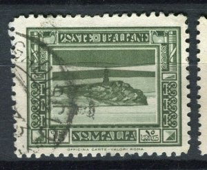 ITALY; SOMALIA 1932 early Pictorial issue fine used 15c. value