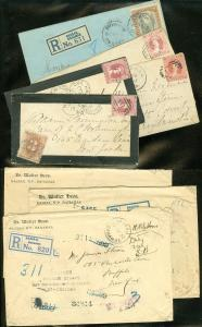 EDW1949SELL : BAHAMAS Property as Received. Unbelievable collection of 8 covers.